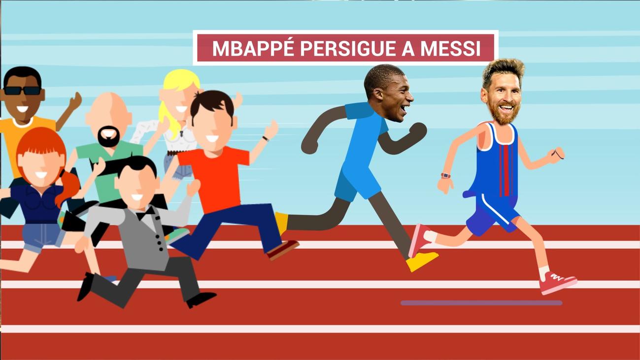 Mbappe, objeto de deseo del Real Madrid