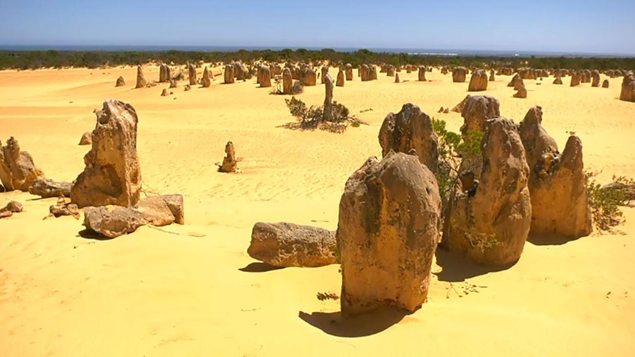 El impresionante desierto de los Pináculos