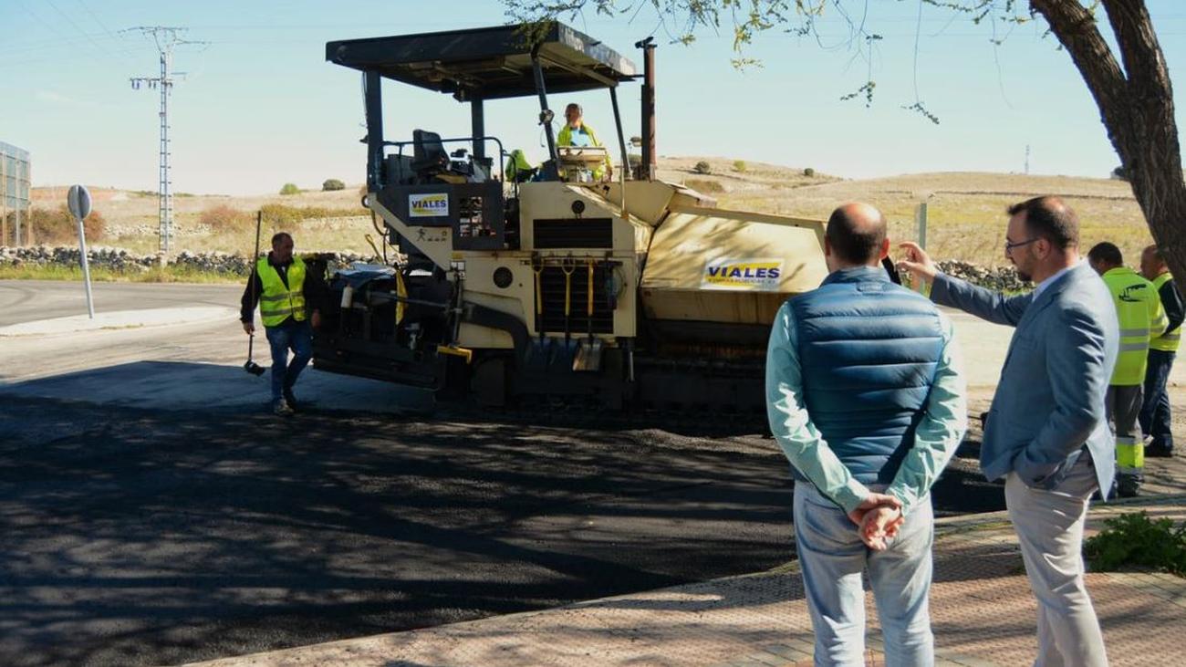 Operación Asfalto en Colmenar Viejo, mejora del pavimento de 33 calles