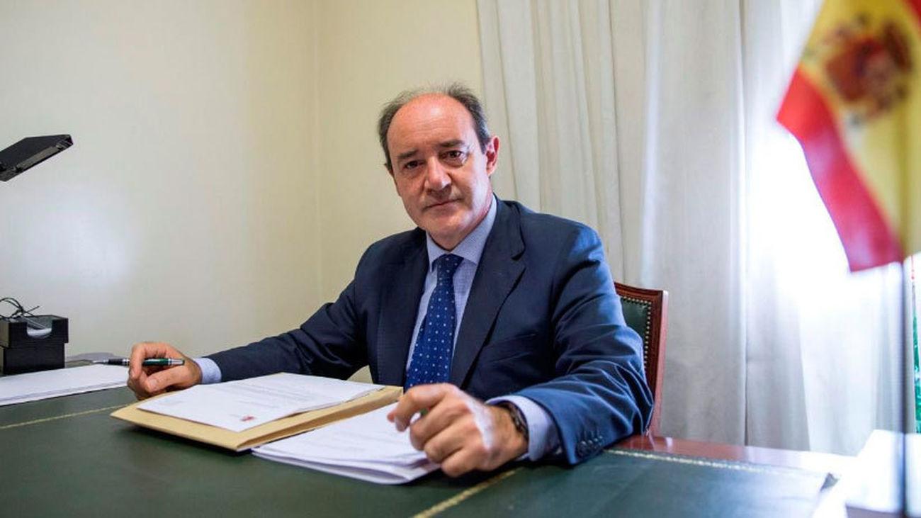 Celso Rodríguez, presidente del Tribunal Superior de Justicia de Madrid