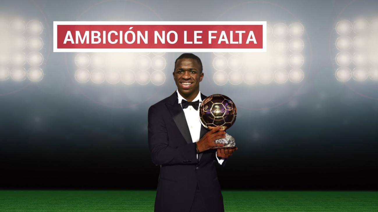 """Vinícius: """"Me veo ganando el Balón de Oro con 25 ó 26 años"""""""