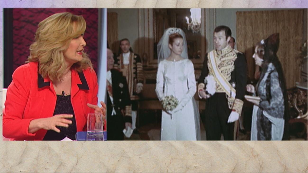 Carmen Martínez-Bordiú, una novia vestida por Balenciaga