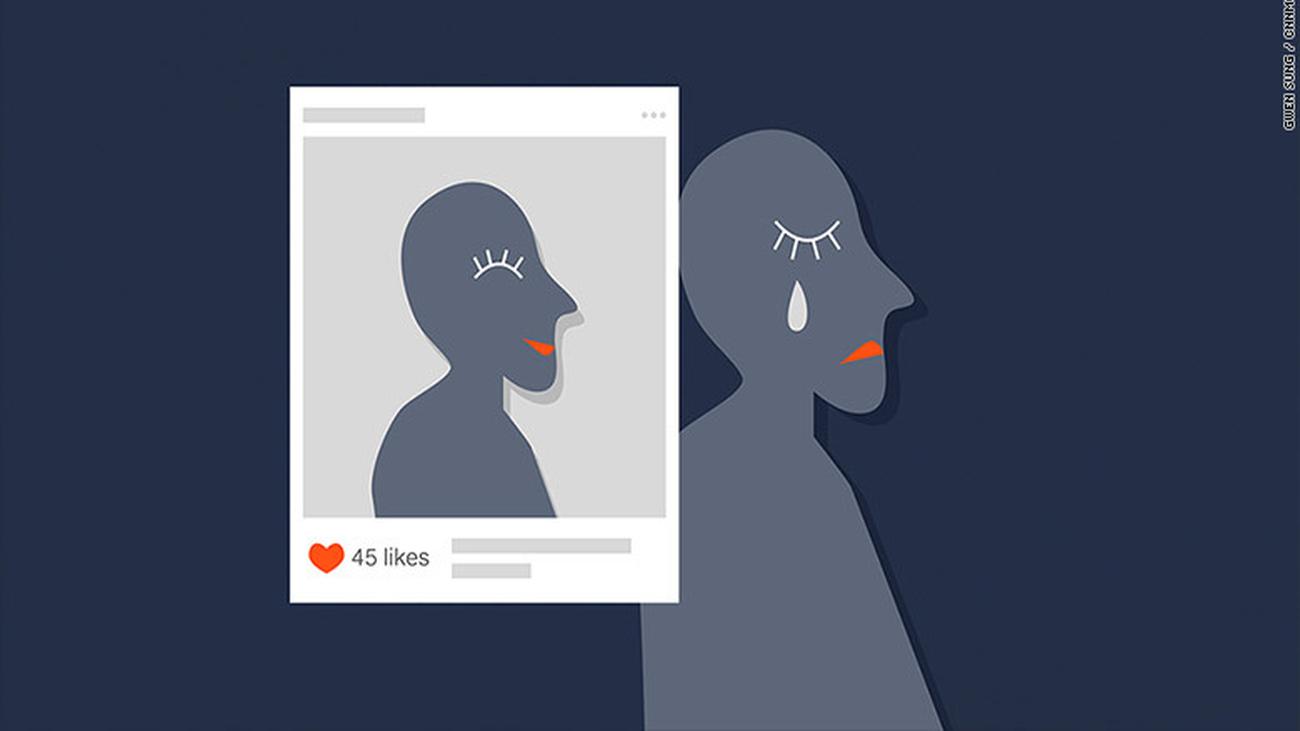La apariencia de la 'felicidad' en las redes sociales en su día internacional