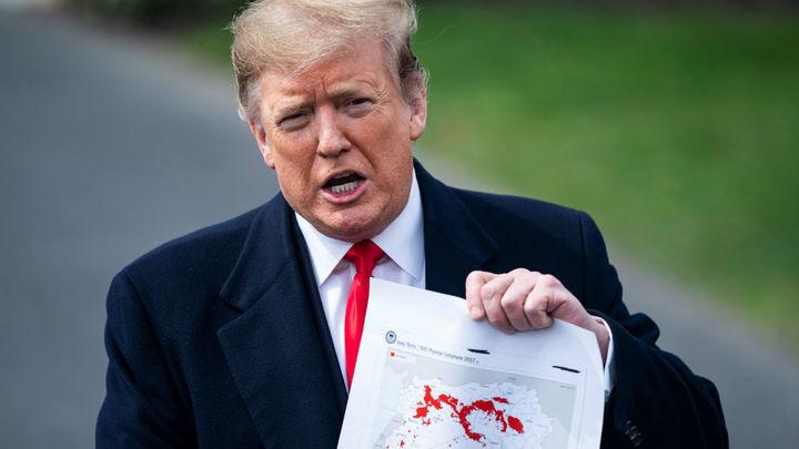 """Trump asegura que el Estado Islámico en Siria """"será eliminado este jueves"""""""