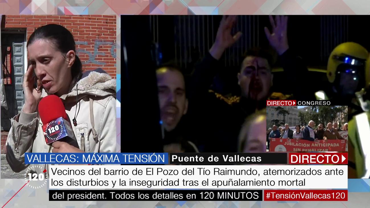 """Una vecina de Vallecas, tras la muerte de Paco: """"La gente tiene miedo"""""""
