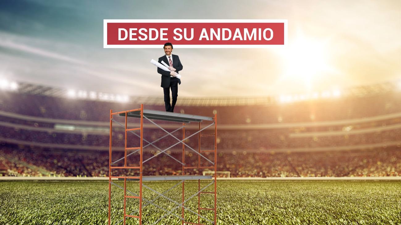 Así ve Luis Enrique el fútbol de la Selección desde el andamio