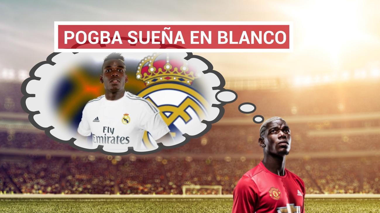 Pogba  se deja querer por el Real Madrid