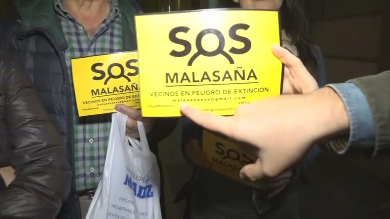 Contra los pisos turísticos en Malasaña