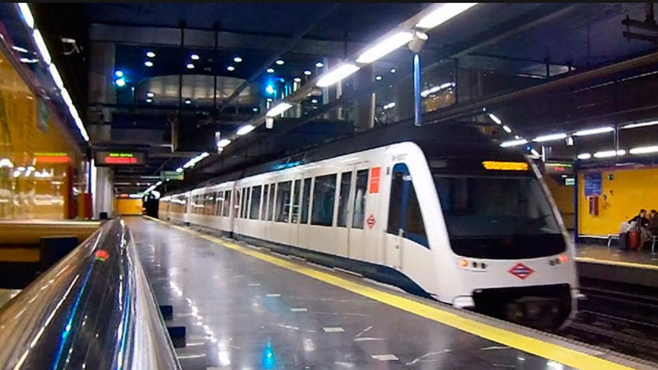 Convoy de Metro de Madrid