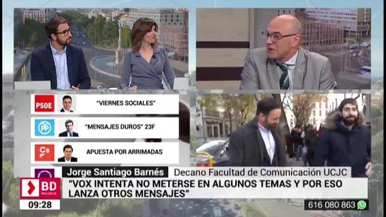 Buenos Días Madrid (8:30 - 10:30) 22.03.2019