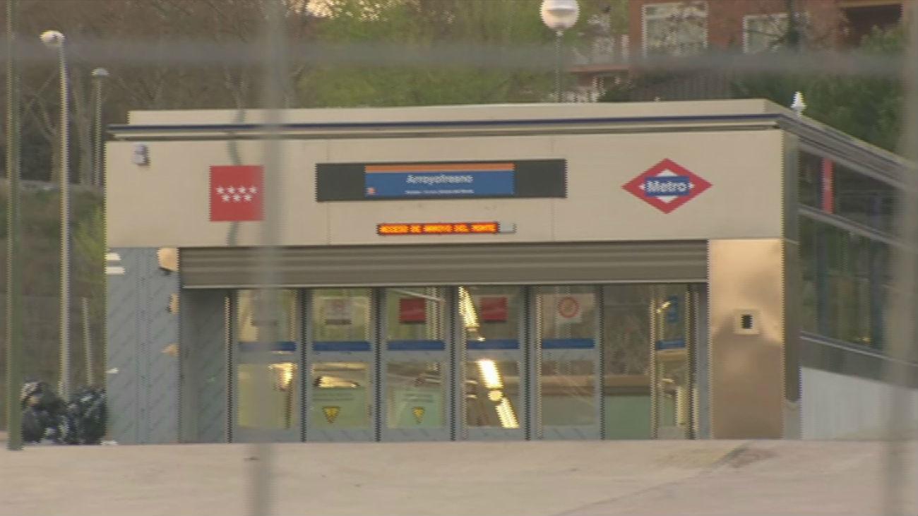 Abre al público la estación de metro de Arroyofresno 20 años después