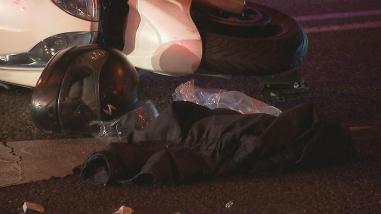 Un fallecido y un herido tras una colisión entre dos motos en Ermita del Santo