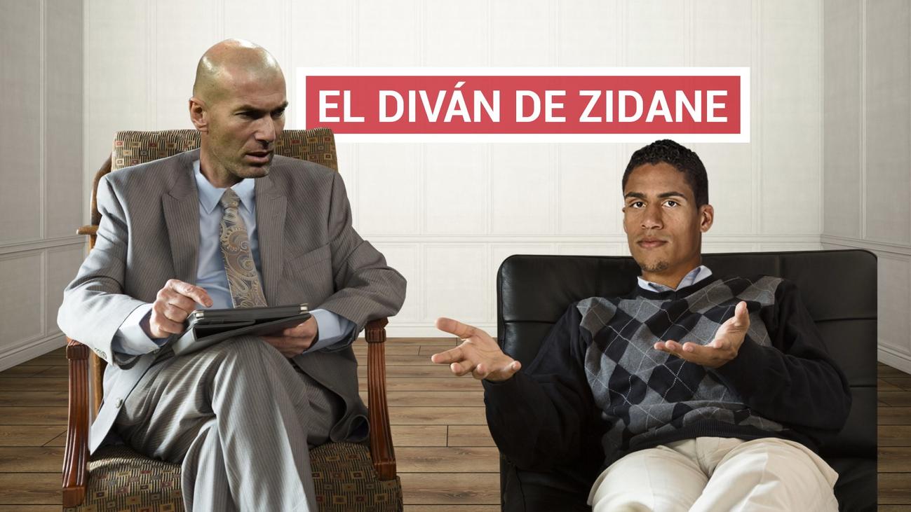 Zidane, la baza para convencer a Varane