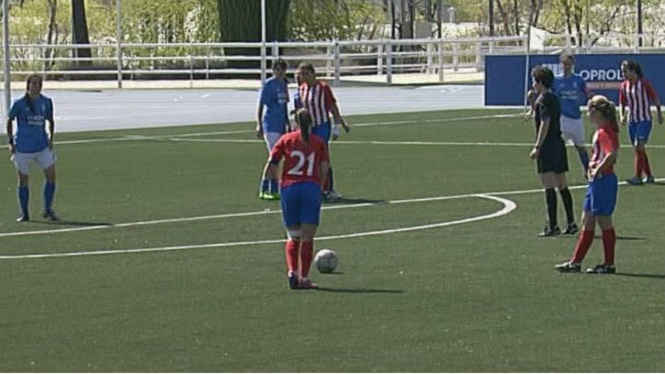 1-5. Contundente victoria del Atlético C frente a Las Rozas