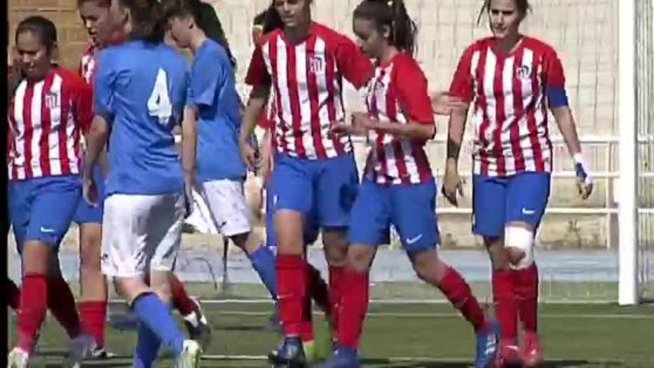 Gol de Reyes, del Atleti C, al Las Rozas (0-3)