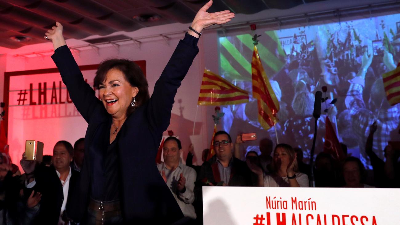 """Calvo garantiza que defenderán a Cataluña de """"separatistas y separadores"""""""