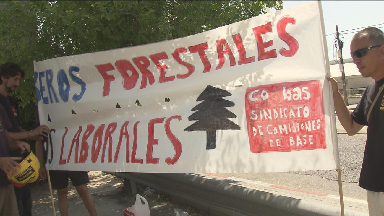 Los agentes forestales reclaman mejoras salariales y conciliar