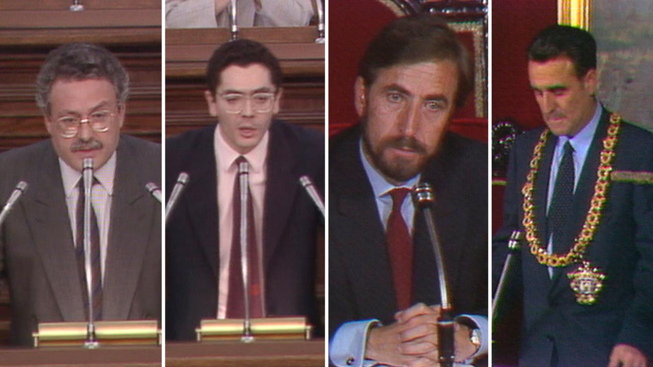 1989. Mociones de censura en la Comunidad y el Ayuntamiento