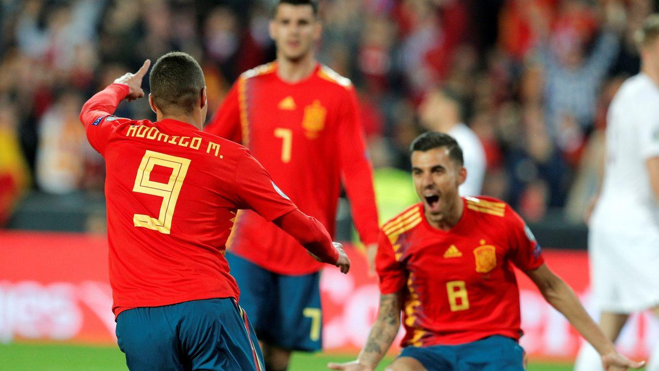 2-1. España, más fútbol que goles ante Noruega