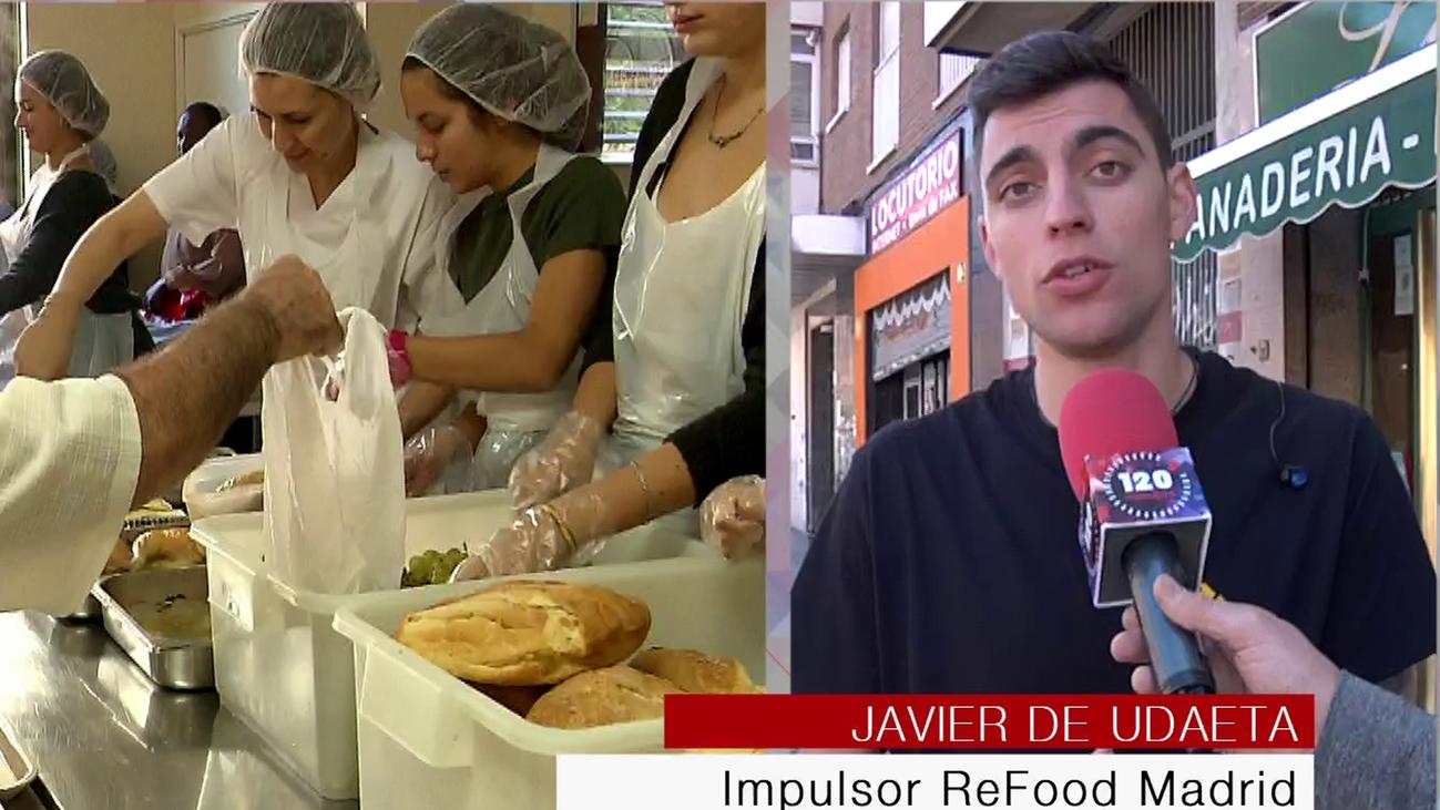 Madrid se moviliza contra el desperdicio de alimentos