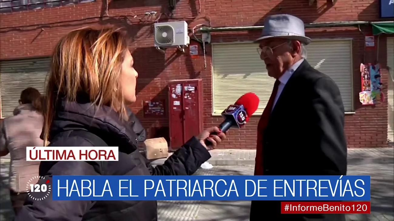 """El patriarca de Entrevías: """"El que apuñaló a Paco que lo pague, pero 'Los Visita' son buena gente"""""""