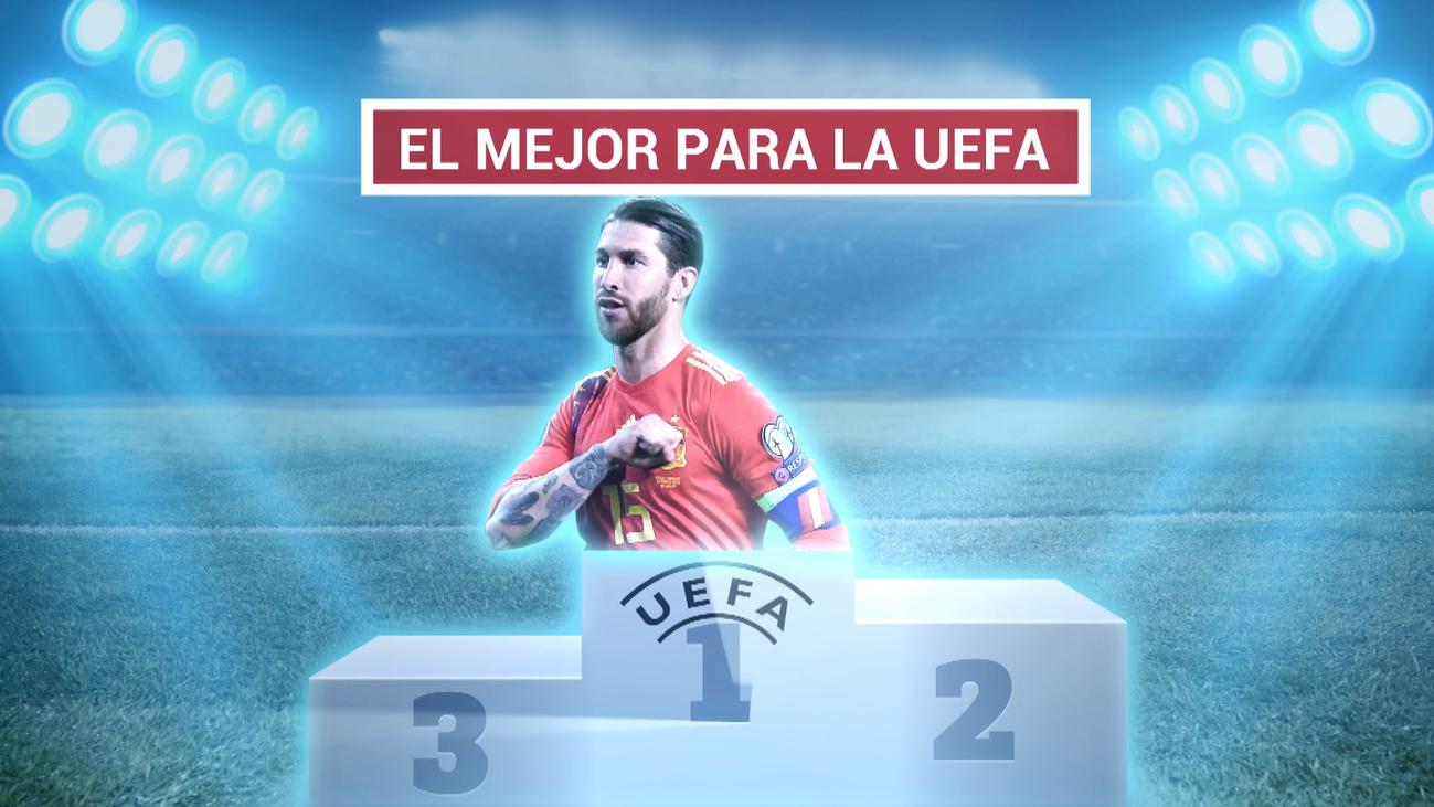 Sergio Ramos, mejor jugador de la temporada para la UEFA