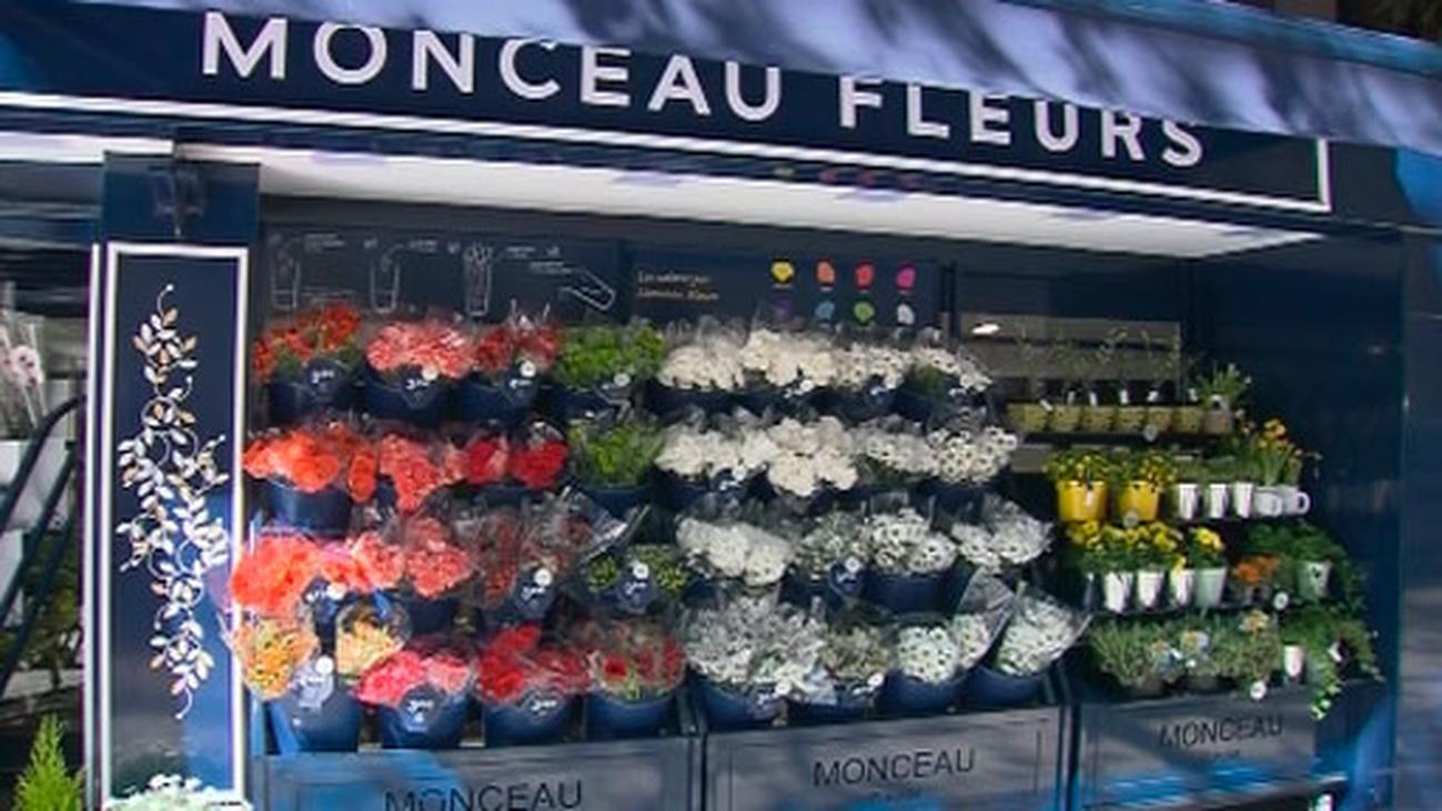 Floristería 'low cost' en la Milla de Oro para animar a los madrileños a comprar flores