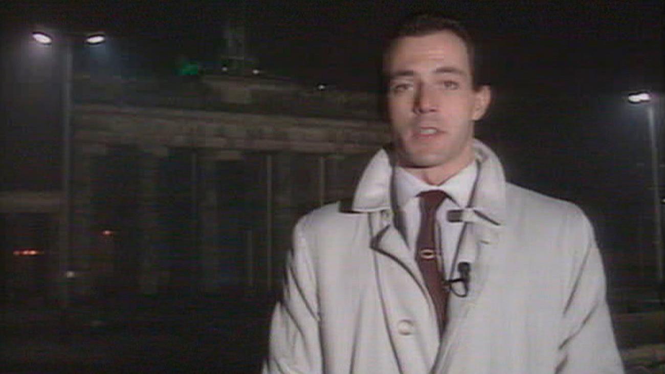 1989. Cae el muro de Berlín y Telemadrid se convierte en referente informativo