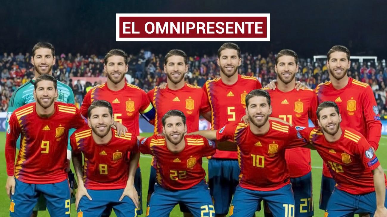 Sergio Ramos, el capitán de España que navega bajo su mando