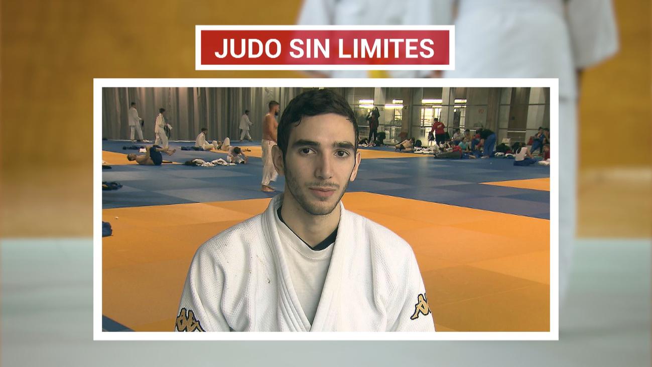 Sergio, judo sin límites pese a su discapacidad visual