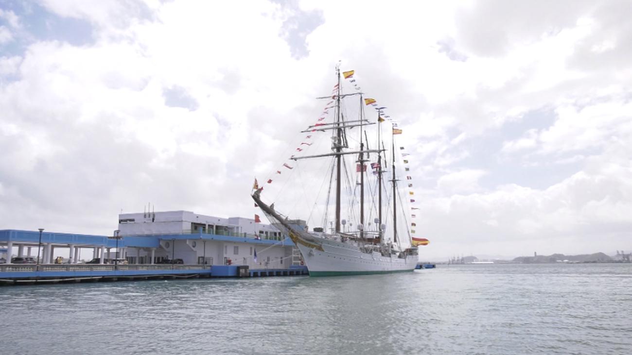 Así es el 'Juan Sebastián Elcano', el buque escuela de la Armada