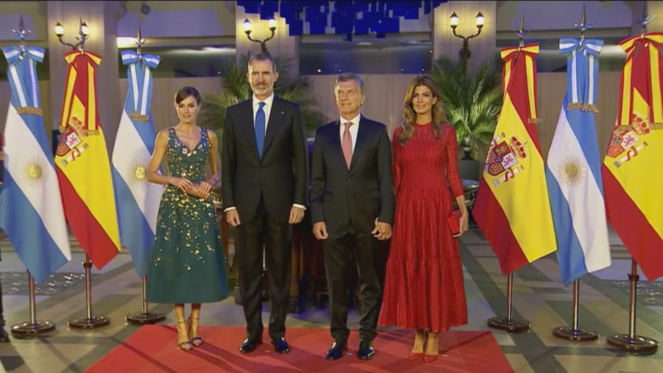 """Macri: """"Los mejores socios que tenemos son los españoles"""""""