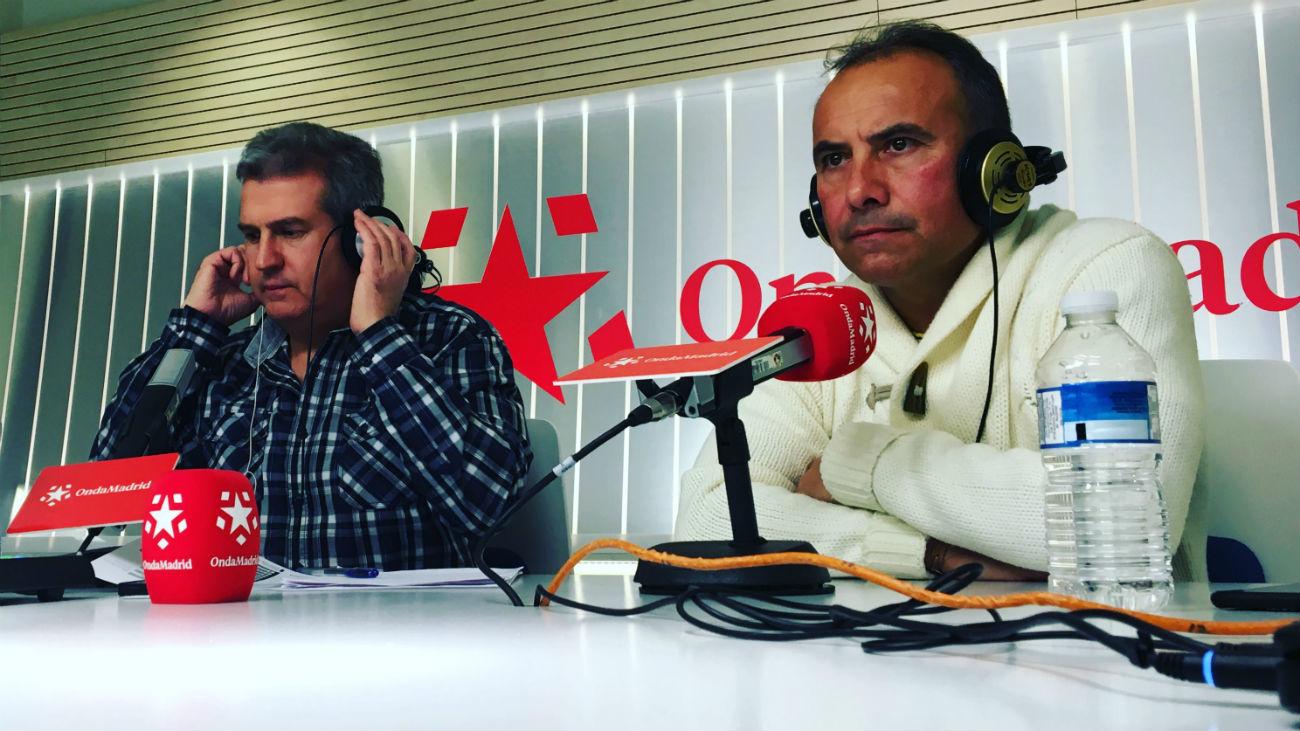 José Vicente Delfa y Pedro Calvo