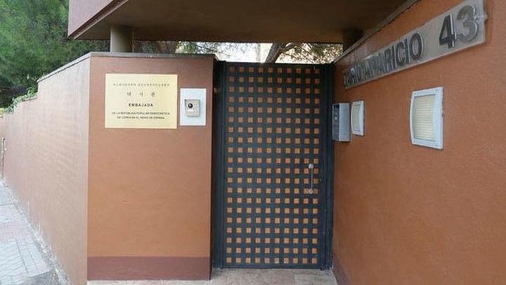 El grupo activista opositor CCD reivindica el asalto a la Embajada de Corea del Norte en Madrid