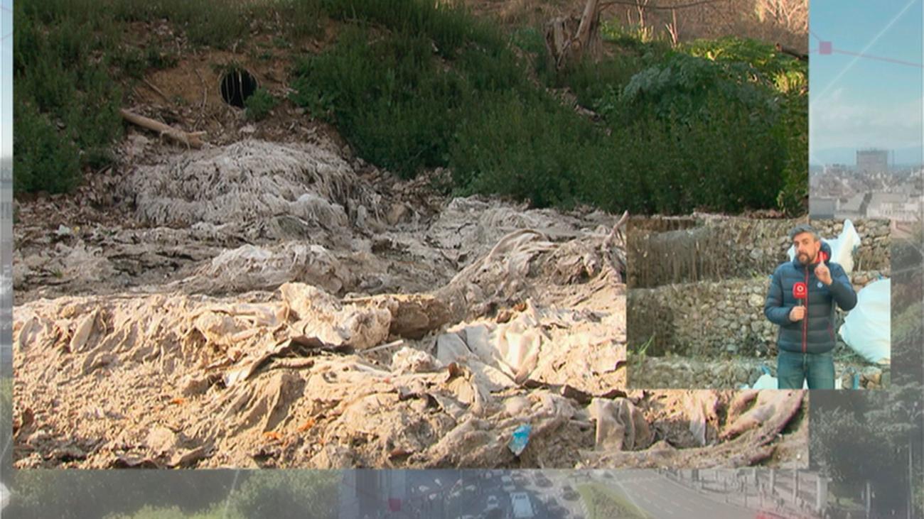 Denuncian vertidos químicos  incontrolados en Arroyomolinos