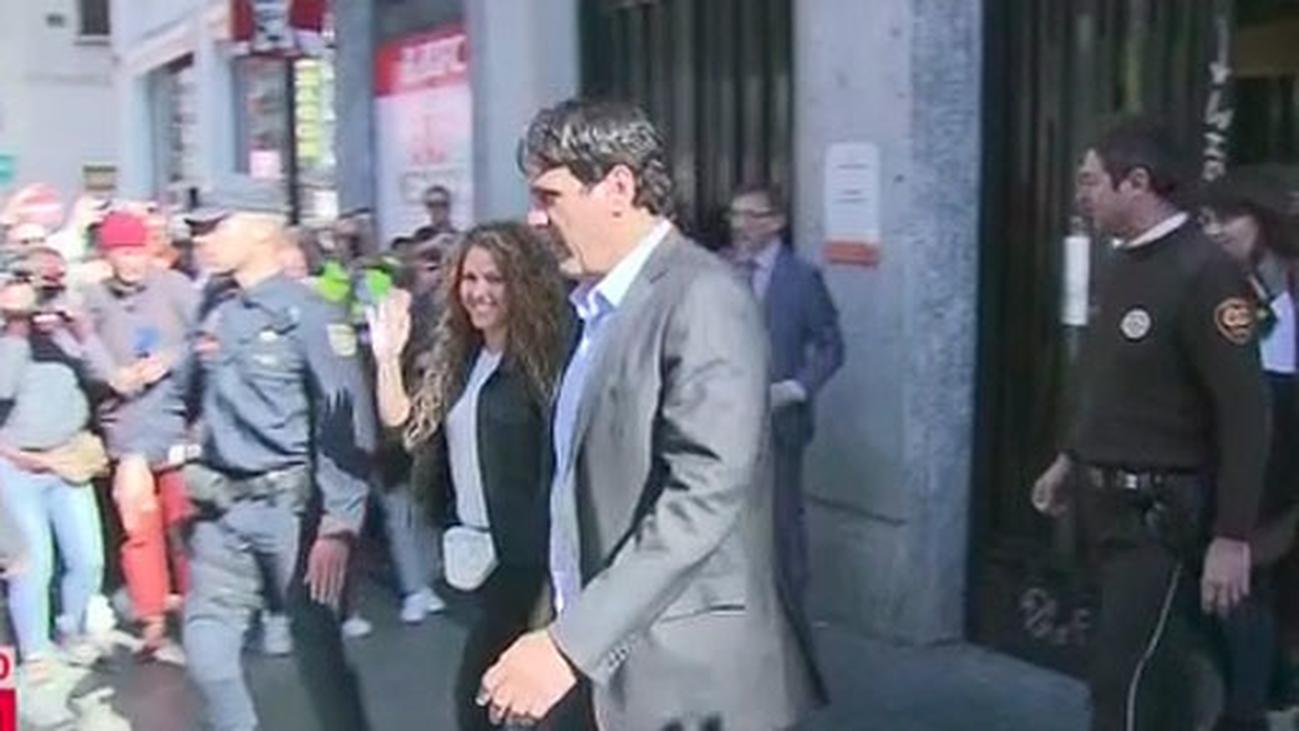 """Shakira declara en un juzgado de Madrid por la demanda de plagio de la canción """"La Bicicleta"""""""