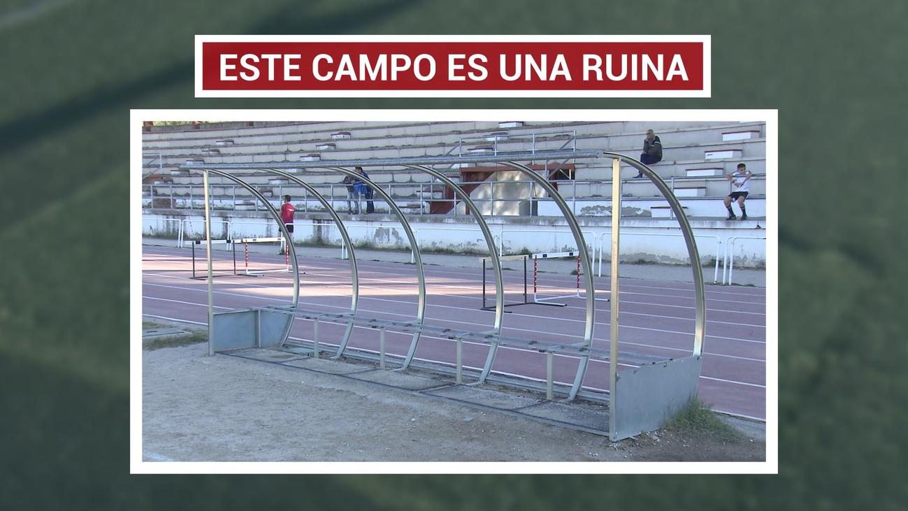 Clubes de Valdemoro se quejan por el lamentable estado del campo