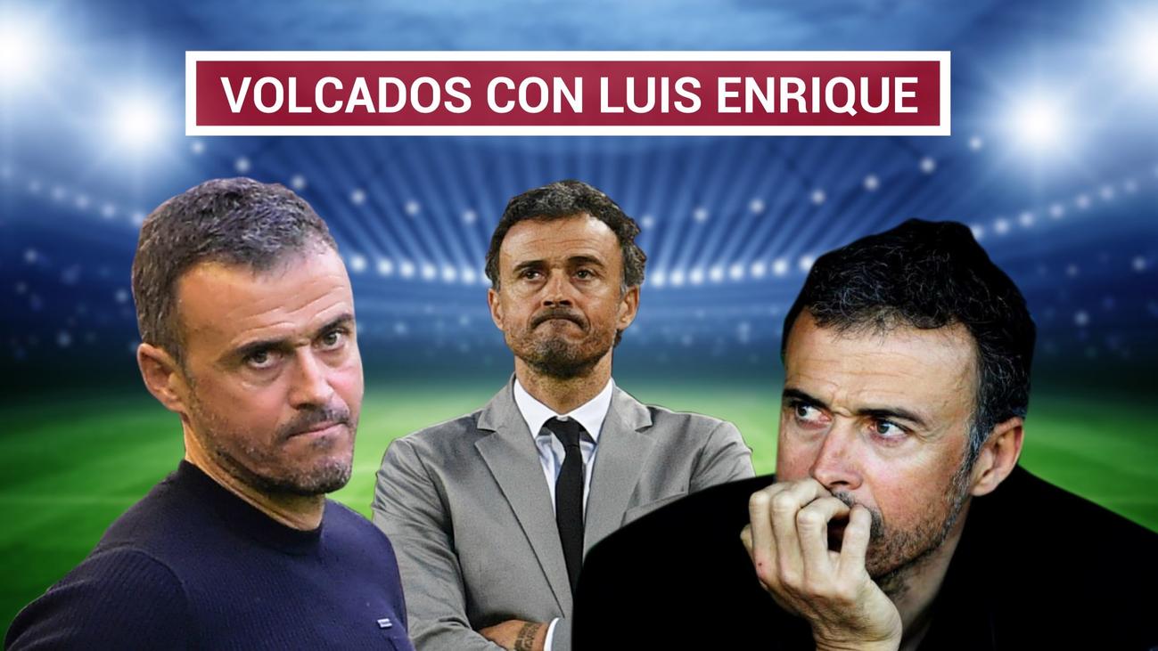 Los internacionales mandan un mensaje de apoyo a Luis Enrique