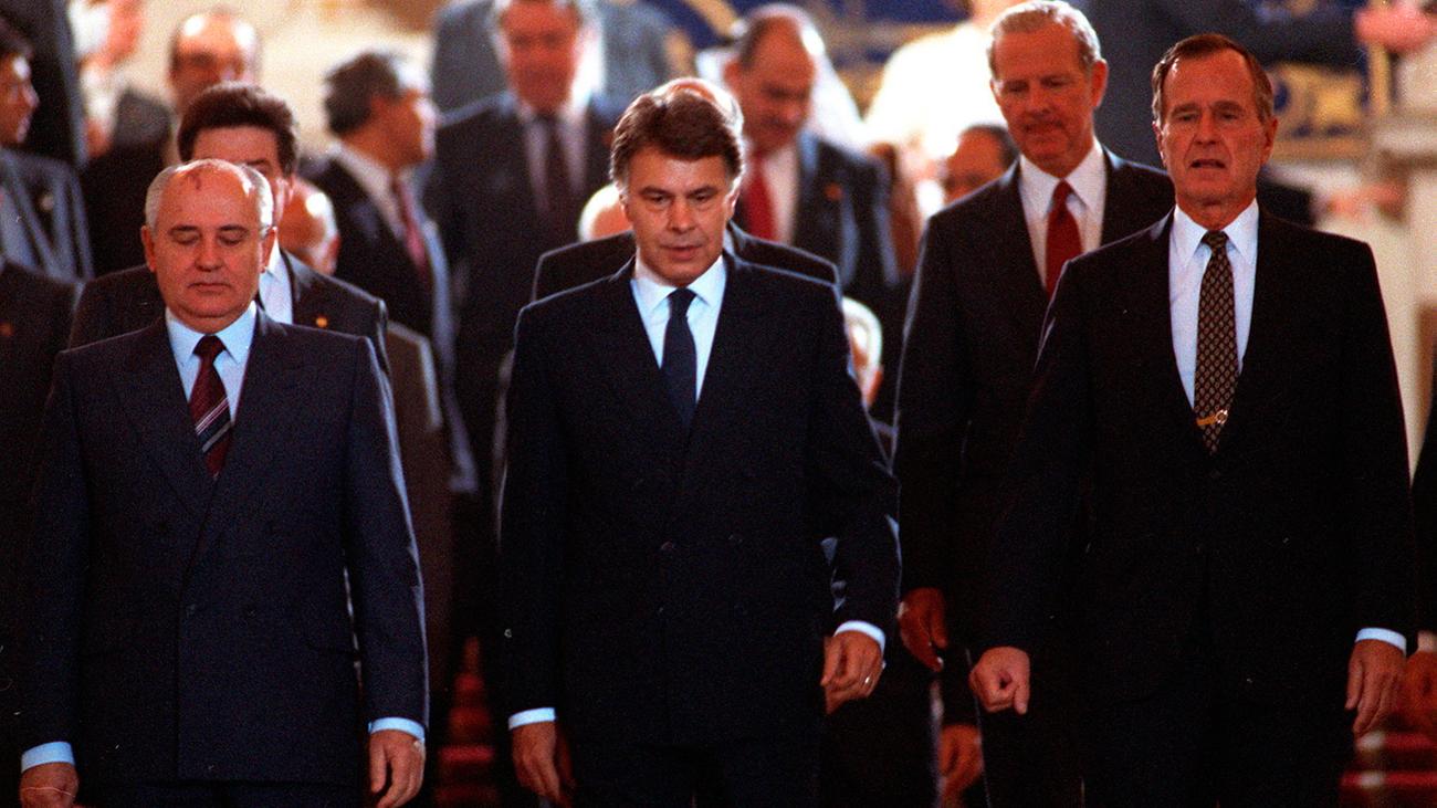 1991. Madrid, sede de la Conferencia de Paz de Oriente Medio