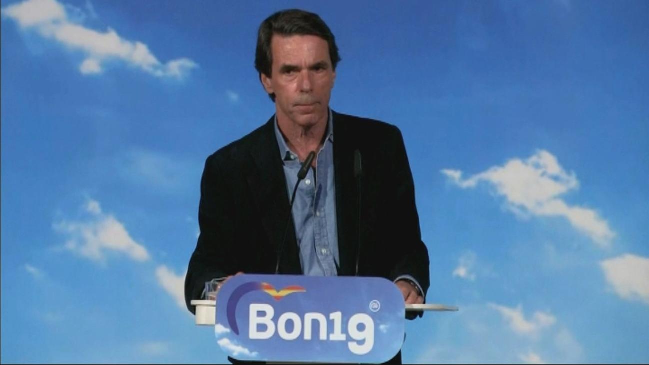 """""""A mí nadie me habla de una derechita cobarde"""", dice Aznar"""