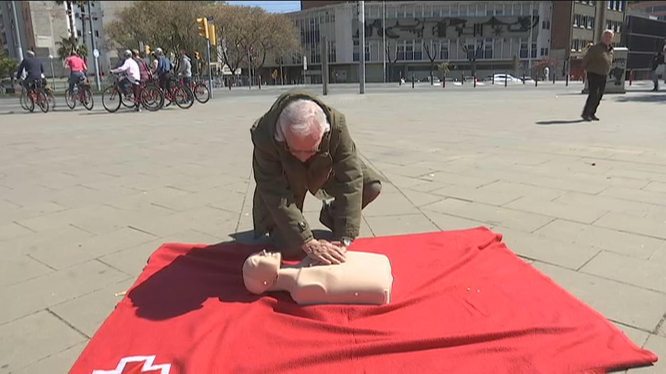 Cruz Roja señala que 7 de cada 10 españoles no saben primeros auxilios