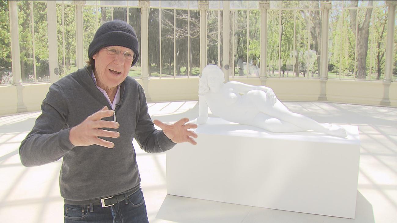 El Palacio de Cristal se llena de enigmas con las esculturas de Charles Ray