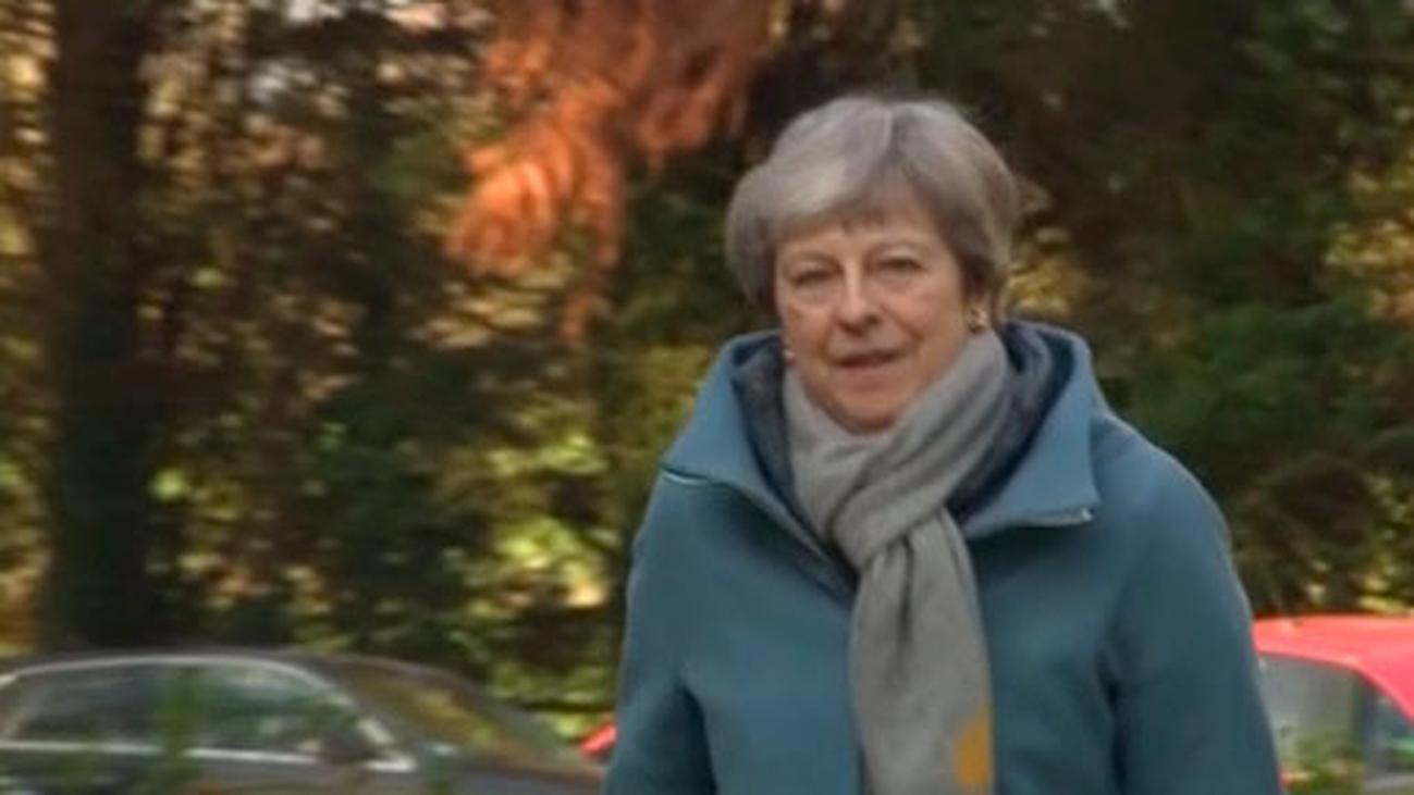 May logra que el Parlamento británico vote este viernes el Brexit por tercera vez
