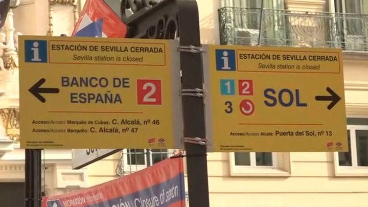 El corte en la línea 2 de Metro de Madrid se extiende a Ópera