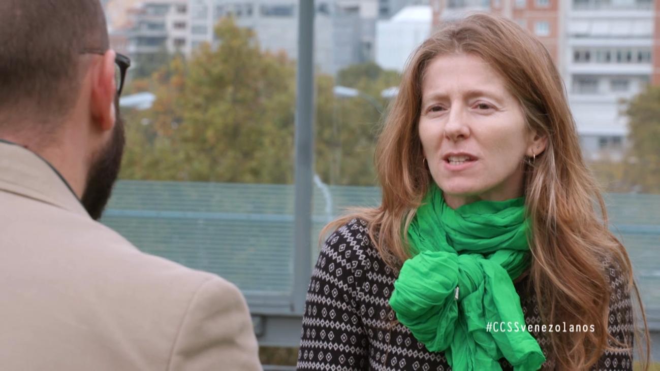 Marisa Recuero analiza la procedencia de las fortunas venezolanas en Madrid