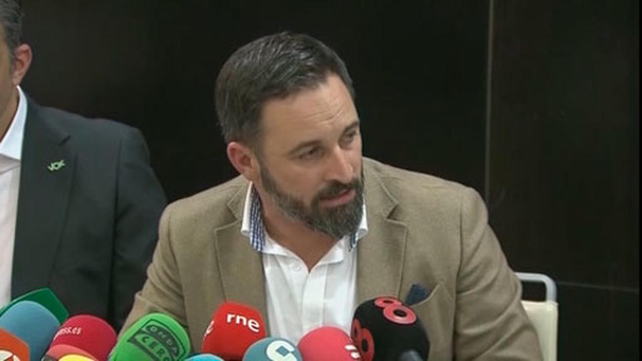 Abascal plantea que Marruecos pague el muro que Vox reclama en Ceuta y Melilla