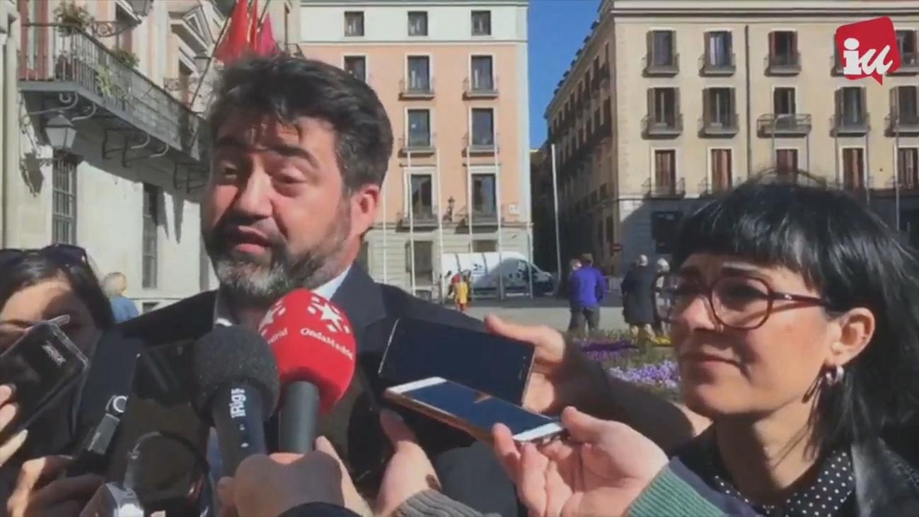El exconcejal Carlos Sánchez Mato, candidato de IU al Ayuntamiento de Madrid