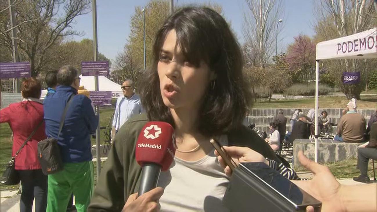 Isa Serra arropa la candidatura de Gema Gil en Leganés