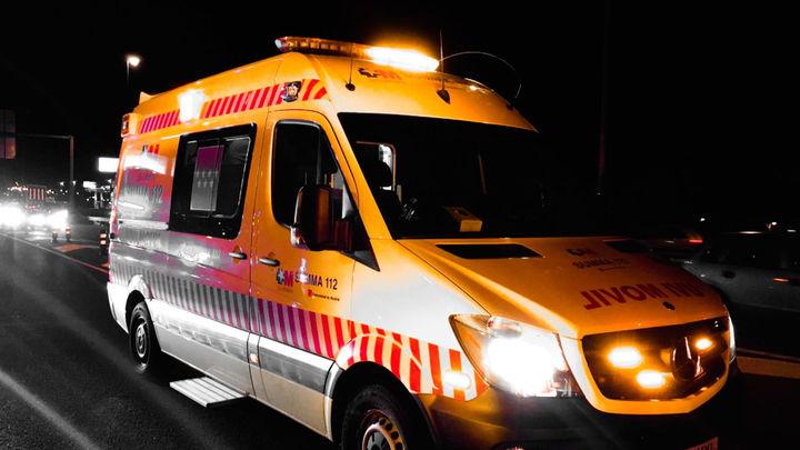 Heridos cuatro operarios de limpieza atropellados por un todoterreno en Alicante