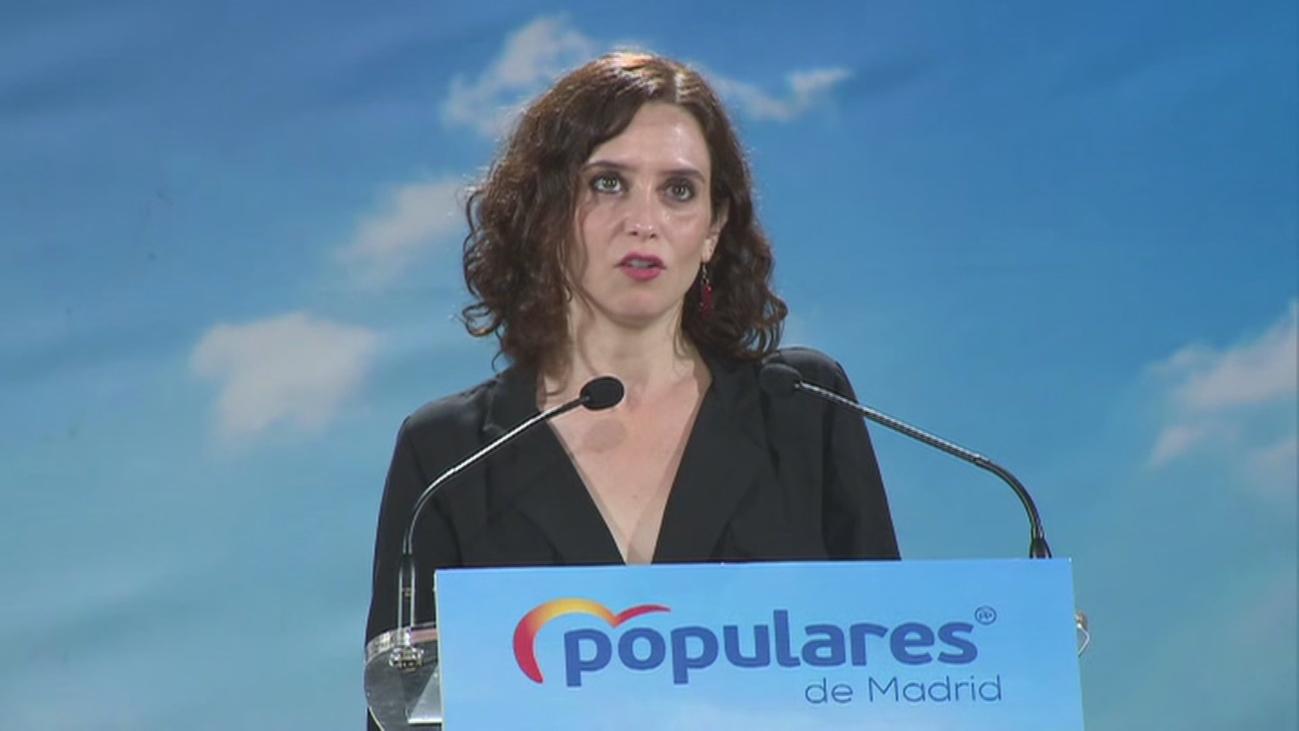 Díaz Ayuso presenta a los candidatos del PP de la zona noroeste